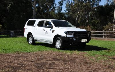 4WD Ford Ranger Dual Cab Canopy 4WD Hire