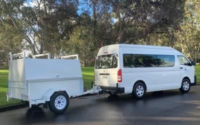 Complete Ute and Van Hire Bus with Trailer Hire2
