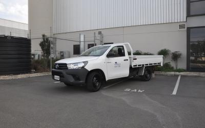 2WD Toyota Traytop Ute Hire Car