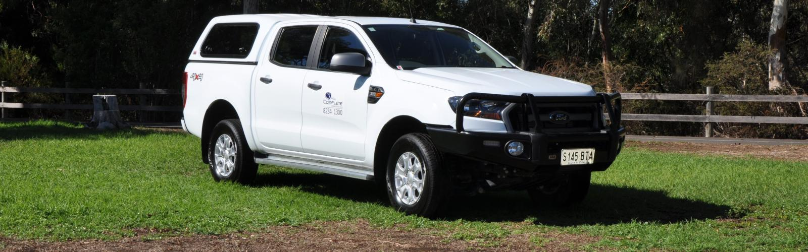 4WD Ford Ranger Dual Cab Canopy 4WD Hire2