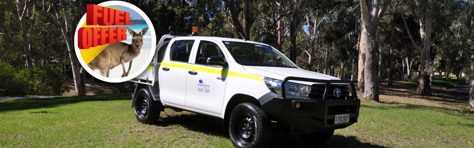 4WD Toyota Hilux Dual Cab Tray Mine Spec 2020 Special Offer