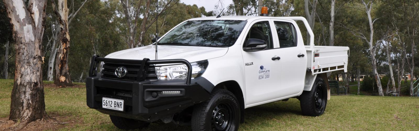 4WD Toyota Hilux Dual Cab Tray 2020