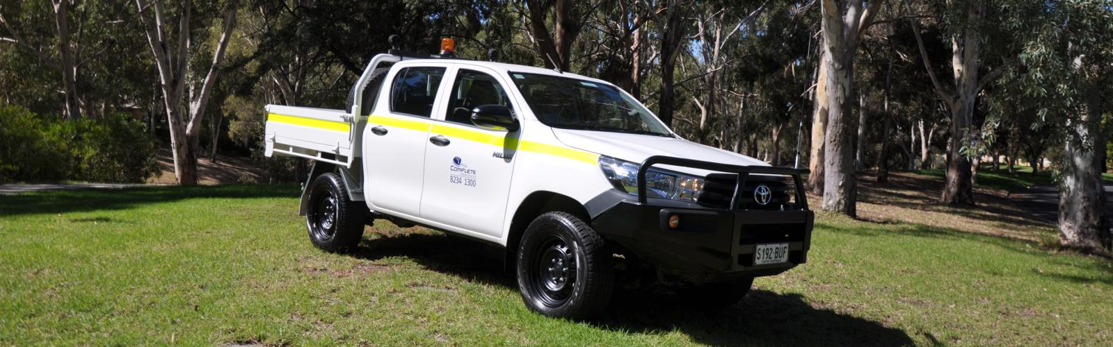 4WD Toyota Hilux Dual Cab Tray (Mine Spec - 5 Star Rated)