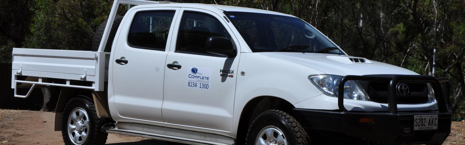 Toyota Hilux Dual Cab TRAY 3