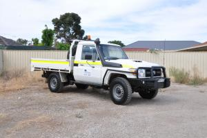 4WD Toyota Landcruiser Traytop Mine Spec 5 Star Rated