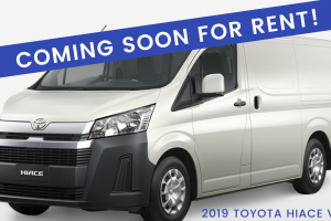 COMING SOON FOR RENT 2019 Toyota Hiace Van