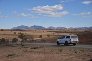 DRIVING DIRT ROADS IN A HIRE CAR