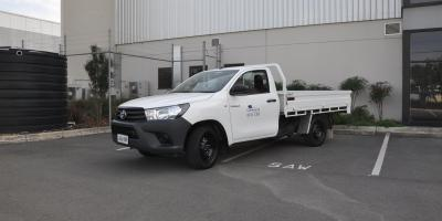 2WD Toyota Traytop Ute Hire Car2