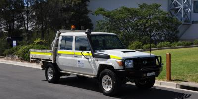 4WD Landcruiser Dual Cab Mine Spec 2